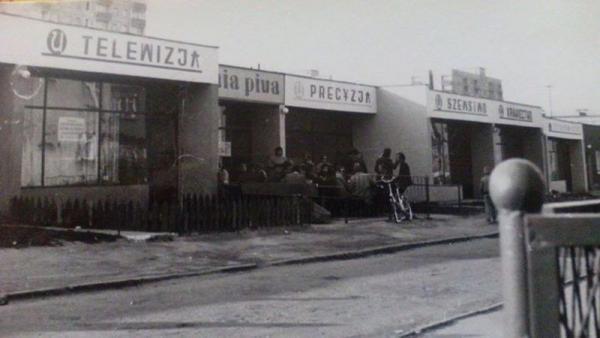 Zdjęcie archiwalne zakładu szewskiego